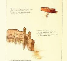 Old Proverbs with New Pictures Lizzie Laweson and Clara Mateaux 1881 0044 Bricks and Walls by wetdryvac