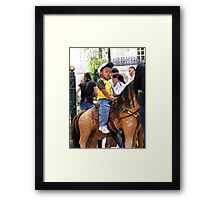 Cuenca Child III Framed Print