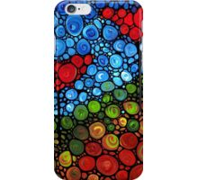 The Roots Of Love Run Deep - Colorful Mosaic Poppy Art iPhone Case/Skin