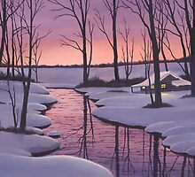 Winter Glow by Mark Regni