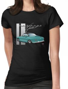 Ghia with a Black Hardtop Womens Fitted T-Shirt