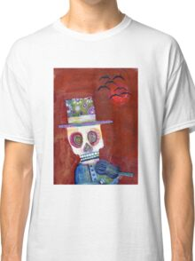 Midnight Fiddler - day of the dead Classic T-Shirt