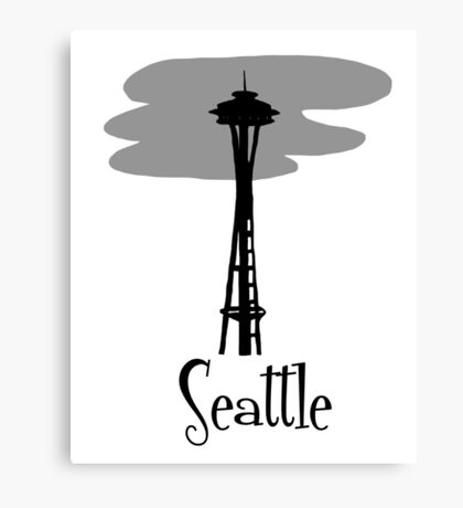Seattle, Washington Travel Canvas Print
