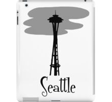 Seattle, Washington Travel iPad Case/Skin