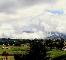 Ecuador Country Panorama II by Al Bourassa