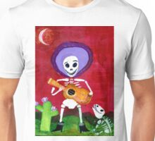 Mariachi Day of the Dead Skeleton  Unisex T-Shirt