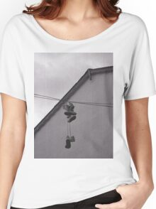 Sneakers on a Wire Women's Relaxed Fit T-Shirt