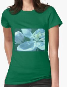 Blossoms Womens Fitted T-Shirt