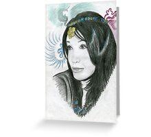 My Beautiful Friend Mayu Greeting Card