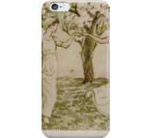Kate Greenaway Collection 1905 0543 The May Dance iPhone Case/Skin
