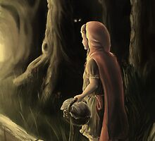 Little Red Riding Hood - Dark Woods by Diosen