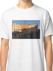 Rome's Fabulous Fountains - Fountain of Neptune, Piazza Navona, Rome, Italy Classic T-Shirt