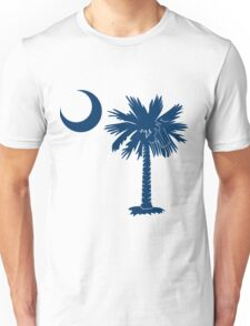 Blue Palmetto Moon Unisex T-Shirt
