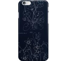 Briggs & Company Patent Transferring Papers Kate Greenaway 1886 0104 Inverted iPhone Case/Skin