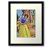 With a Smile and a Song Framed Print