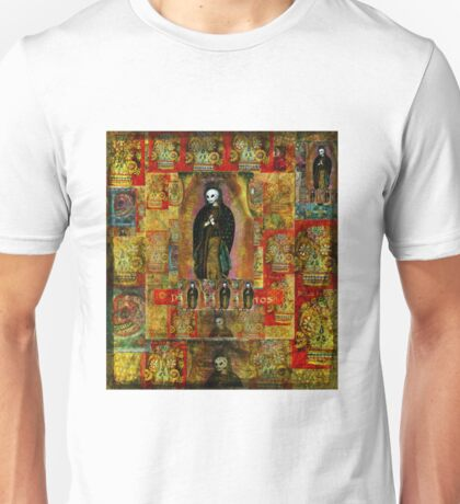 Virgin of Guadalupe - Day of the Dead ART Unisex T-Shirt