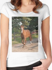 Chief - NNEP Ottawa, ON Women's Fitted Scoop T-Shirt