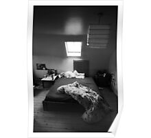 Empty bed Poster