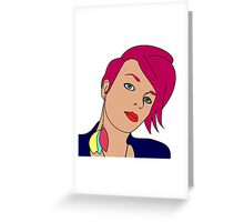 Punk Lives Greeting Card