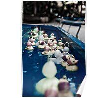 ducks everywhere! Poster
