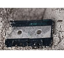 Lost tape Photographic Print