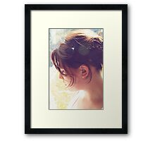 {Delicate} Framed Print