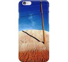 WIRES IN DESERT iPhone Case/Skin