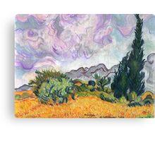 A Van Gogh Dream Canvas Print