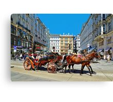 The Charm of Vienna  Canvas Print