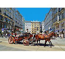 The Charm of Vienna  Photographic Print