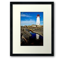 On Watch - Nova Scotia Framed Print