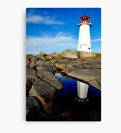On Watch - Nova Scotia Canvas Print