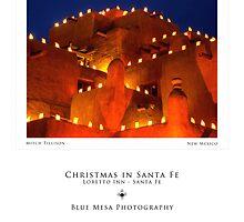 La Fonda Hotel, Santa Fe (poster version) by Mitchell Tillison