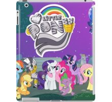 My Little Pony zebra night-time scene iPad Case/Skin