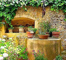 A Private Garden....................................Majorca by Fara