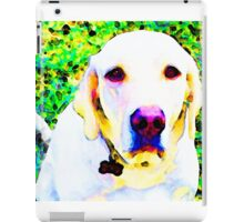 You Are My World - Yellow Lab Art iPad Case/Skin