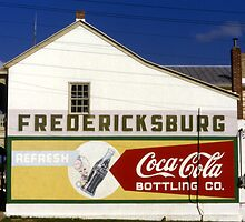 Coca-Cola Bottling Co., Fredericksburg, Texas by Stephen D. Miller