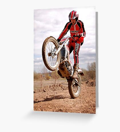 Ross Caunt - BETA trials Greeting Card