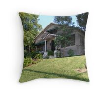 """Our Old House"" Throw Pillow"