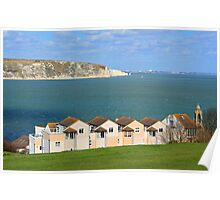 Swanage Bay & Clock Tower Poster