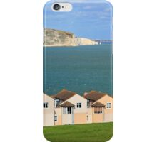 Swanage Bay & Clock Tower iPhone Case/Skin