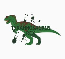 Tyrannosaurus  One Piece - Short Sleeve