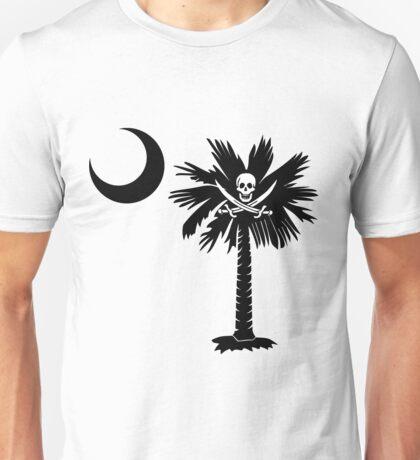 Calico Jack Pirate Palmetto Moon Unisex T-Shirt