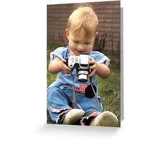 Mini Photographer Greeting Card