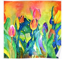 Welcome spring Poster