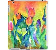 Welcome spring iPad Case/Skin