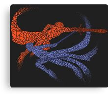 Distorted Combo Canvas Print