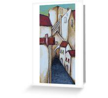A Tuscan village Greeting Card
