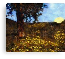 Tramping Out at Dawn Canvas Print