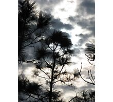 Sunset Through Clouds II Photographic Print